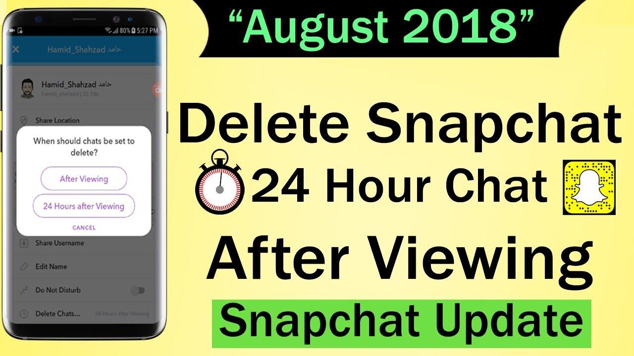 snapchat new update