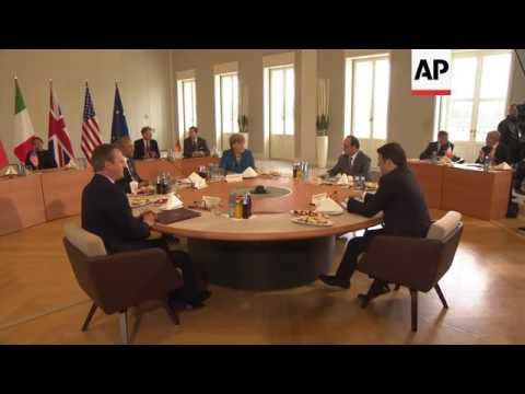 G5 leaders meeting in Hannover