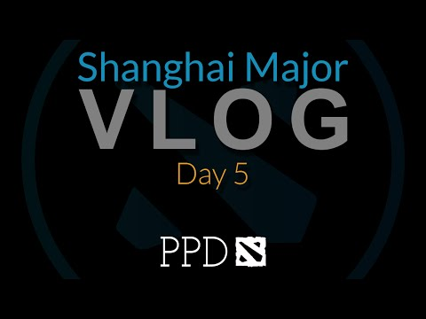 PPD Vlog JAMES HARDING = FIRED - Shanghai Major Vlog Day 5
