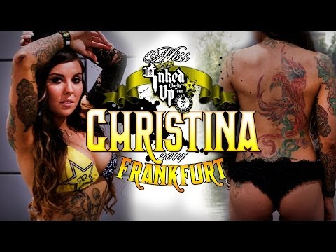 Rockstar Energy Miss Inked Up Frankfurt 2014