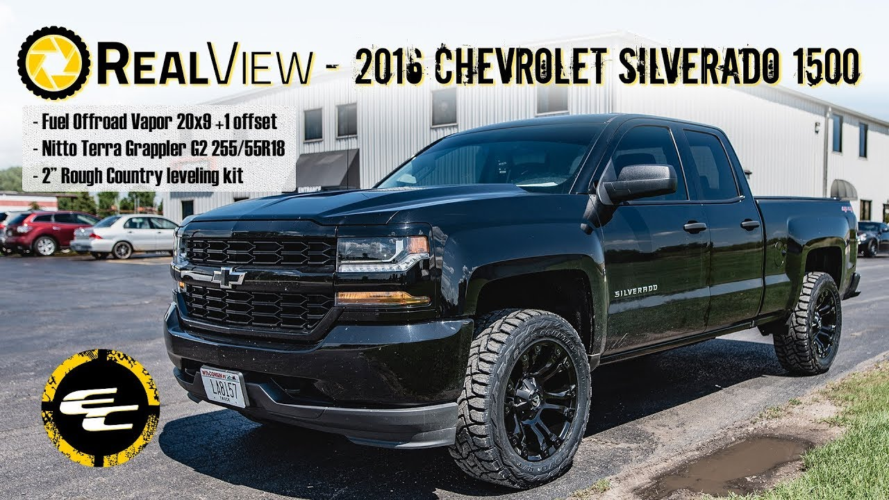 Realview Leveled 2016 Chevy Silverado 1500 W 20 Quot Fuel