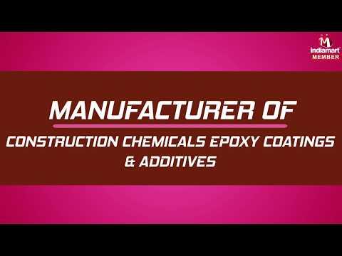 Construction Chemicals Epoxy Coatings & Additives by Fibrex Construction Chemicals Private Limited