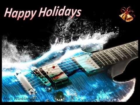 Heavy metal christmas song instrumental - YouTube