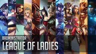 Repeat youtube video Badministrator - League of Ladies (prod. Thomas Prime)