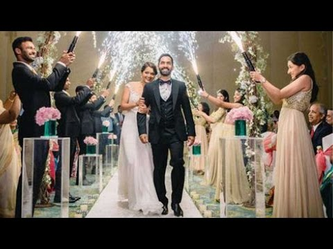 Dinesh Karthik married Dipika Pallikal in a Christian ceremony