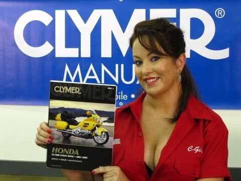 Clymer Manuals touring and sport touring service maintenance shop repair manual motorcycle Video