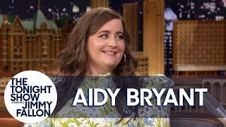 """Aidy Bryant shares a photo of her new """"stalker,"""" and talks about mi..."""