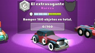 EL EXTRAVAGANTE: ROMPER 160 OBJETOS EN TOTAL | CRASH OF CARS