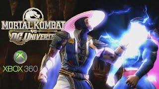Mortal Kombat Vs. DC Universe playthrough (Xbox 360)