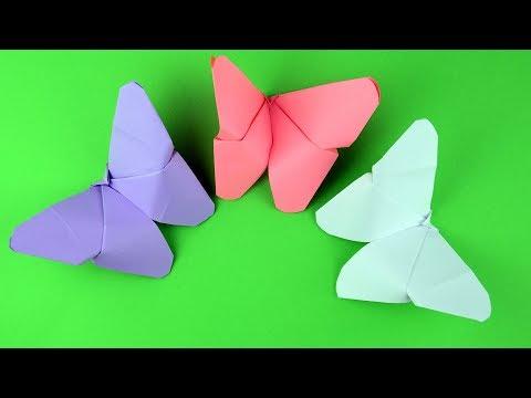 Як зробити орігамі Метелик з паперу – покрокова інструкція