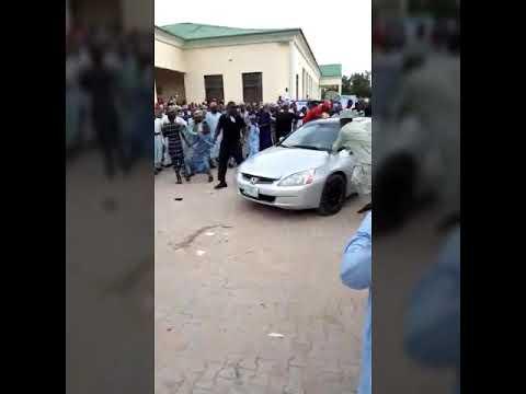 Maiduguri People Beat A Guy Claiming To Be Badman Binladin