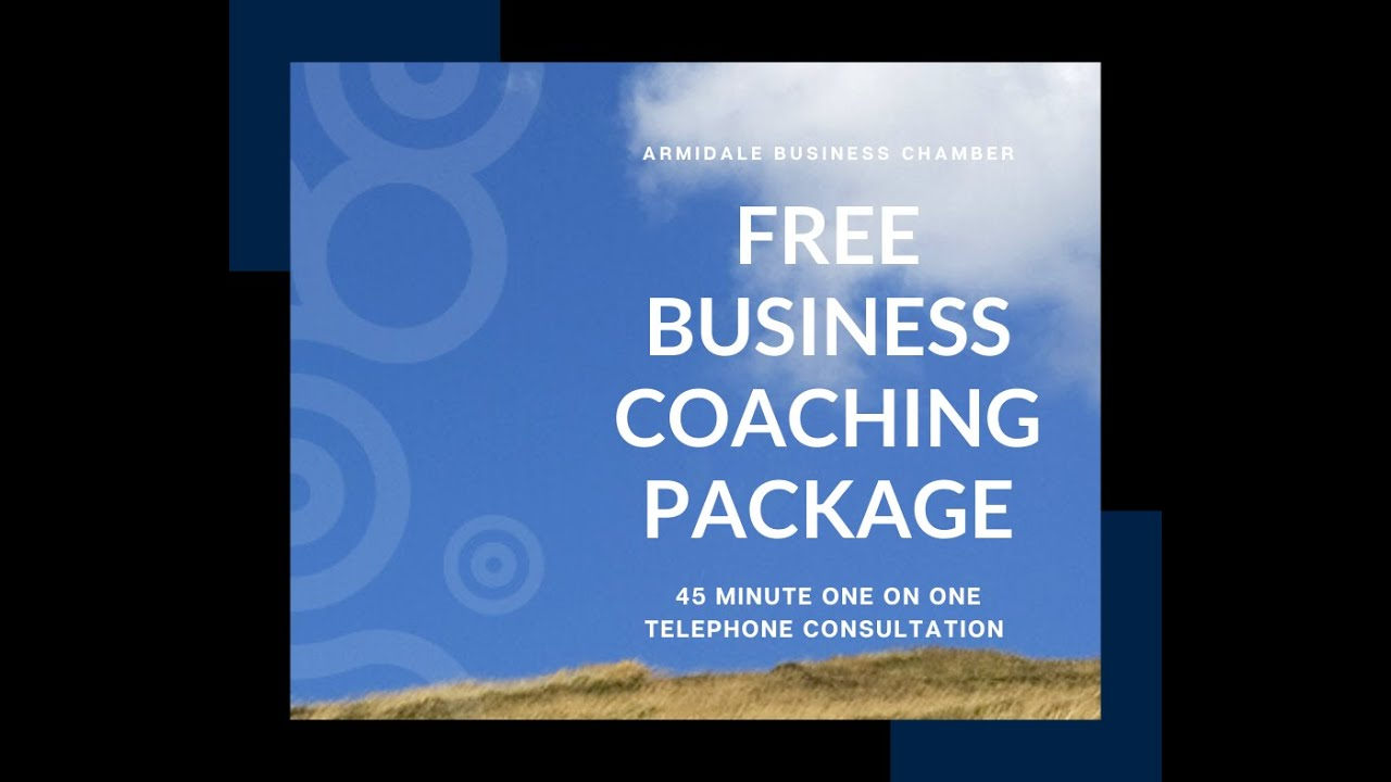 Armidale Business Chamber FREE business coaching package April 2020