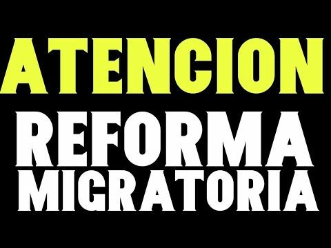 Reforma Migratoria ATENCIÓN Semana Crucial