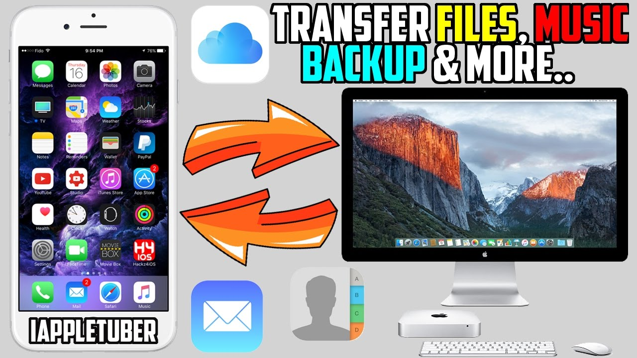 how to put music on icloud