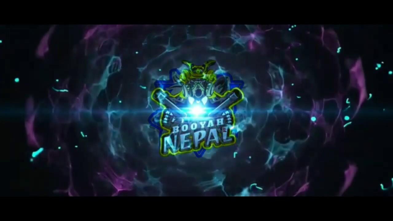BOOYAH NEPAL INTRO LOGO