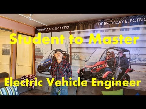 Student to Master - Arcimoto Electric Vehicle Engineer