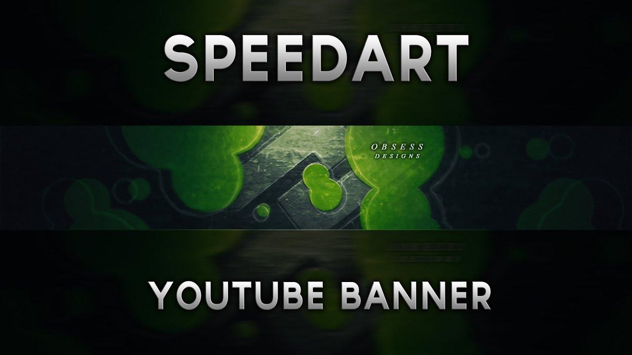 Youtube Banner Design Contest For Obsessdesigns Speeda