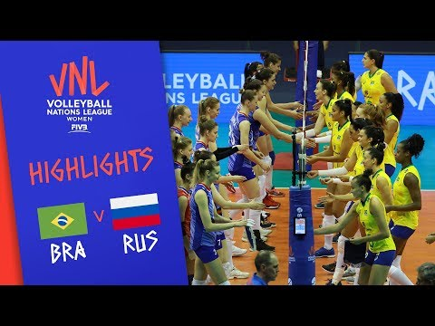 BRAZIL vs  USA - Highlights Women | FINAL | FIVB Volleyball Nations