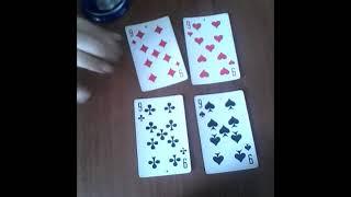 Обучение гаданию на игральных картах часть 01