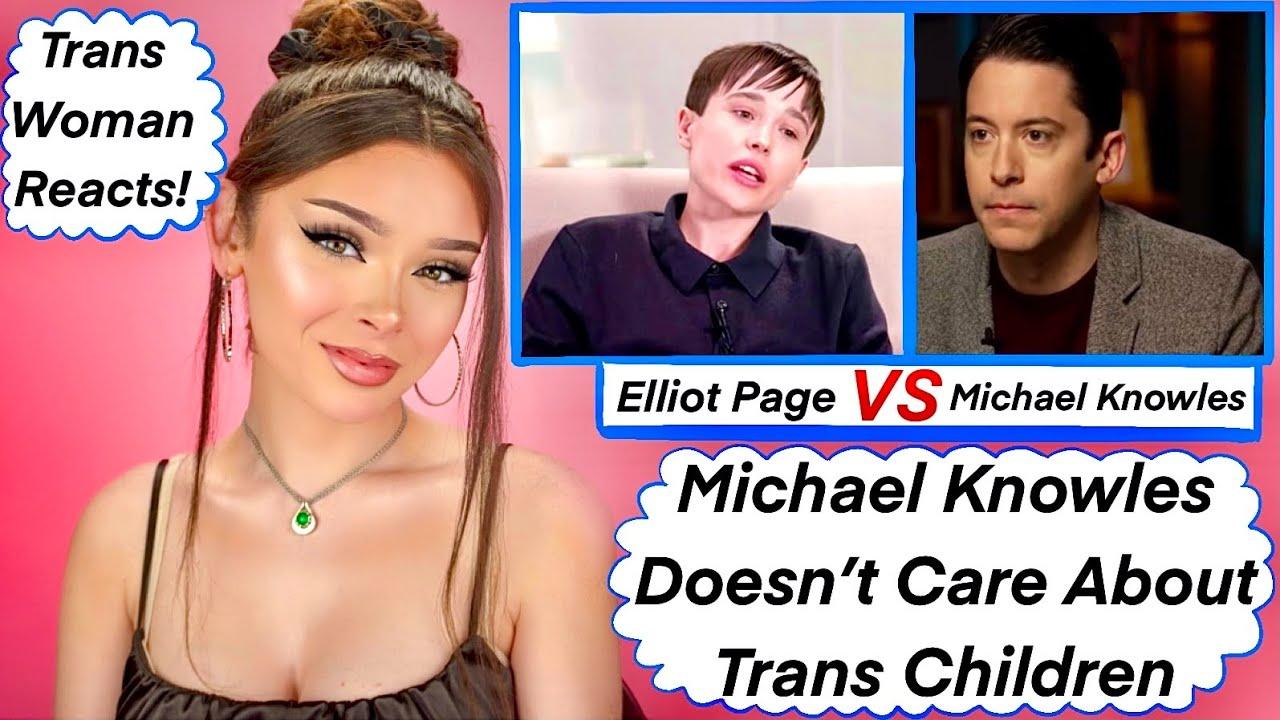 Elliot Page VERSUS Transphobe Michael Knowles