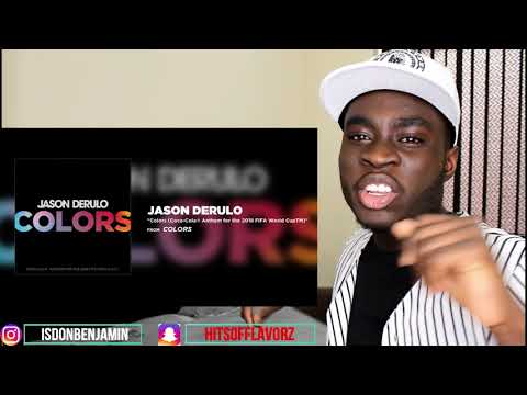 Jason Derulo - Colors - REACTION