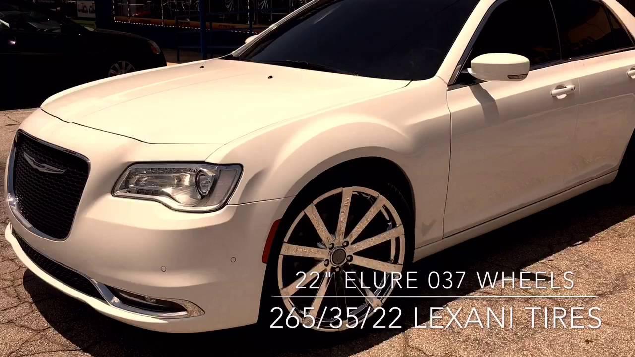 """2016 Chrysler 300 sitting on 22"""" Elure 037 wheels leaving ..."""