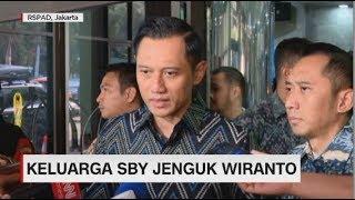 Keluarga SBY Jenguk Wiranto