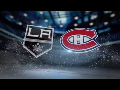 Los Angeles Kings vs Montreal Canadiens - October 26, 2017 | Game Highlights | NHL 2017/18 Обзор