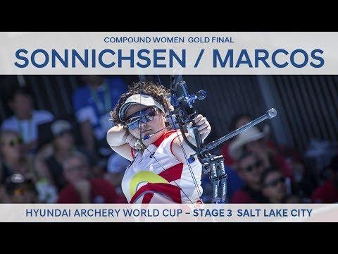 Sarah Sonnichsen v Andrea Marcos – Compound Women Gold Final | Salt Lake City 2017
