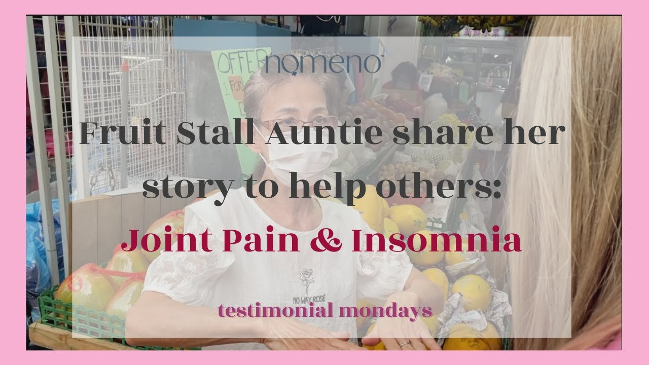 #testimonialmondays Fruit Stall Auntie shares her story to help others (Eng/Chi)