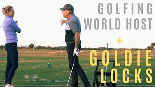 AMAZING DRILL FOR DISTANCE CONTROL-ANNA HOST AT GOLFING WORLD