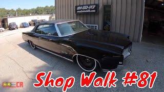 Creative Rods Shop Walk #81 - Classic Car Restoration