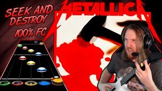"""Download Video METALLICA ~ Seek and Destroy 100% FC while discussing  """"beep boop"""" songs and grinding for FCs MP3 3GP MP4"""