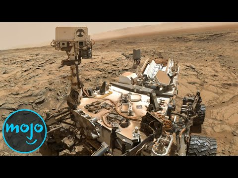 Top 10 Mind-Blowing Images From Mars!