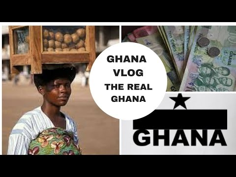 GHANA VLOG THE REAL GHANA  COST OF LIVING MY AREA AND LAND