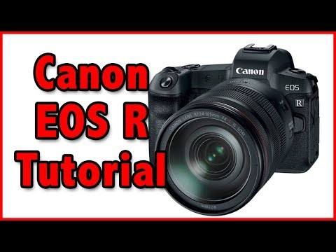 Canon EOS R Tutorial Training Video