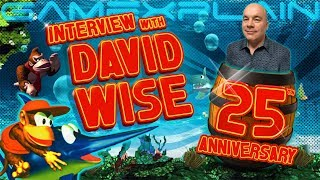 We Got David Wise for DKC's 25th! Favorite Tracks, Tropical Freeze Origins, GBA Ports, & More!