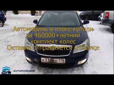 Октавия отправляется в Краснодар.Подбор авто/Автоподбор
