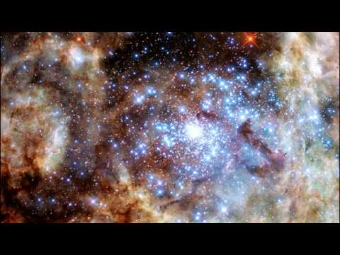 Classroom Aid - Star Cluster R136 in Ultraviolet