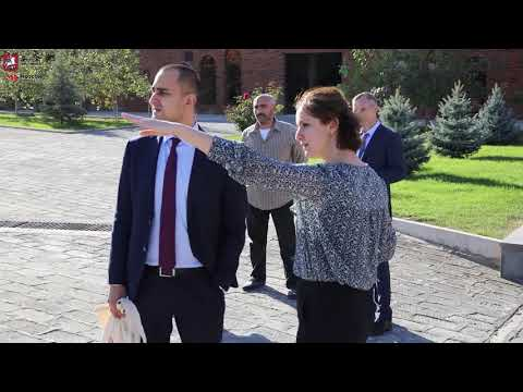 Посещение  компании «Армения Вайн» руководством