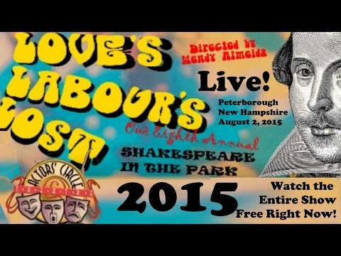 Love's Labour's Lost - Shakespeare in the Park 2015 - Full HD!