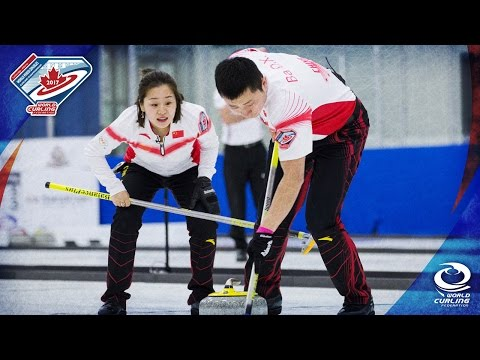China v Canada - Semi-final - World Mixed Doubles Curling Championship 2017