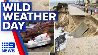 Wild Weather Experienced From Melbourne To Perth | Nine News Australia