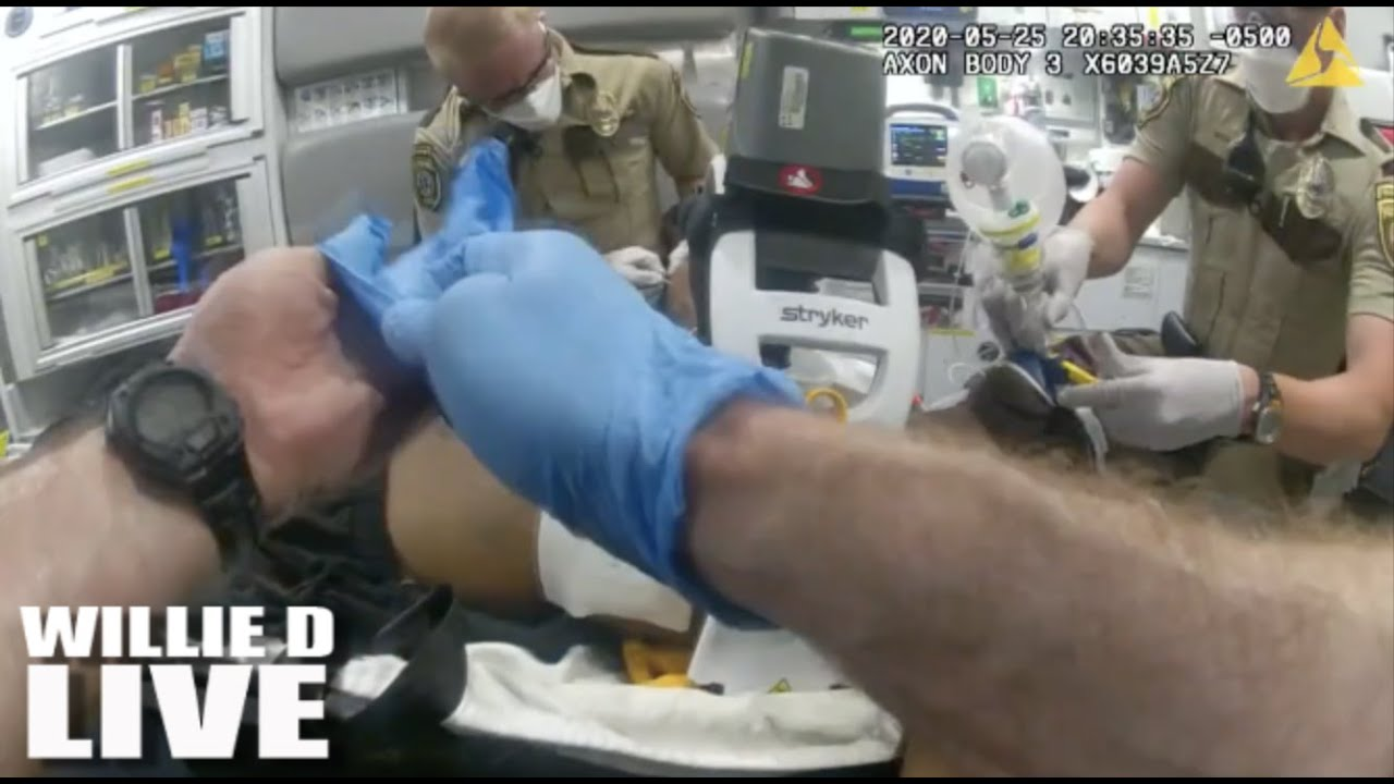 George Floyd's Last Breath: Police Bodycam Shows What Happened Inside The Ambulance