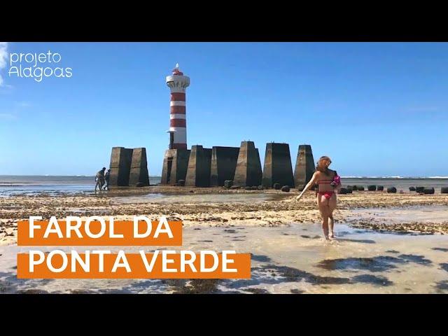 MACEIÓ - Curtindo a maré seca na Praia do Farol da Ponta Verde