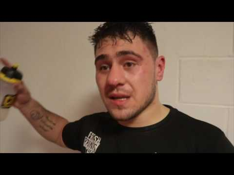 DAVE ALLEN REACTS TKO LOSS TO ORTIZ -'HE HURT ME BAD, I THOUGHT YOU LITTLE F**% IM GOING TO DO YOU'