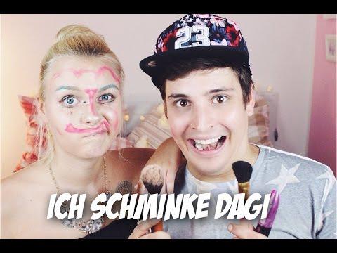 ICH SCHMINKE MEINE FREUNDIN! | LIONTTV