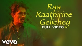 Nh4 Bangalore to Chennai - Raa Raathirine Video | Siddharth