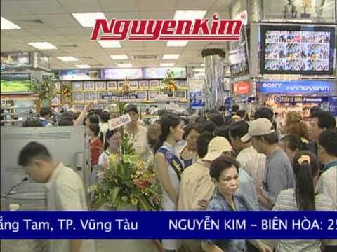 Khai trương lớn - Khuyến mãi cực lớn tại siêu thị điện máy Nguyễn Kim