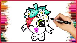 How To Draw Shopkins Drawing | Drawing Ideas  For Shopkins Coloring - Drawing Tutorial